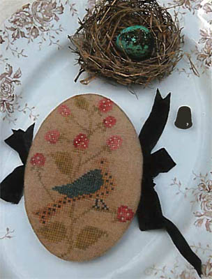 Stacy Nash Primitives Feathered Nest Pin Book