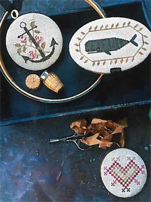 Stacy Nash Primitives Nantucket Sewing Set