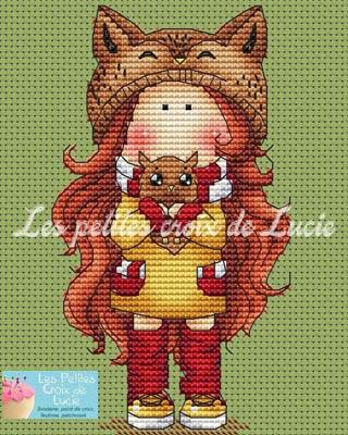 La Chouette by Les Petites Croix De Lucie