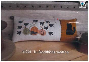 Thistles 10 Blackbirds Waiting