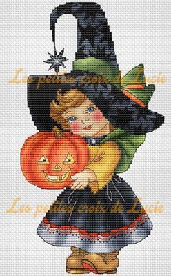 Halloween Girl by Les Petites Croix De Lucie