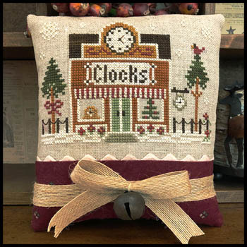 Hometown Holiday - Clockmaker by Little House Needleworks