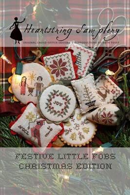 Heartstring Samplery Festive Little Fobs 10 - Christmas Edition
