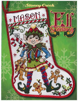 Elf Stocking by Stoney Creek Collection