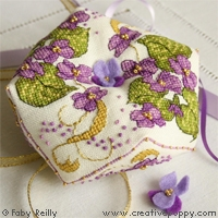 Violet Biscornu by Faby Reilly Designs