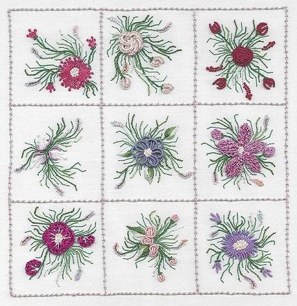 EdMar Nine Flower Sampler 1 (Version B)
