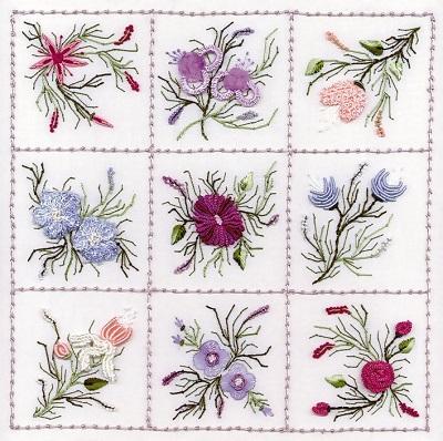 EdMar Nine Flower Sampler 2