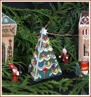 Village Xmas Tree by The Victoria Sampler
