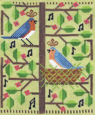 Artful Offerings Bluebird Rhapsody