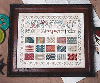 Jeannette Douglas Designs Learning Stitches