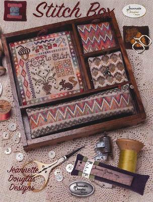 Jeannette Douglas Designs Love To Stitch - Stitch Box