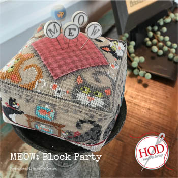 Hands On Designs Meow Block Party