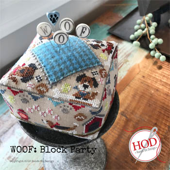 Woof Block Party by Hands On Design