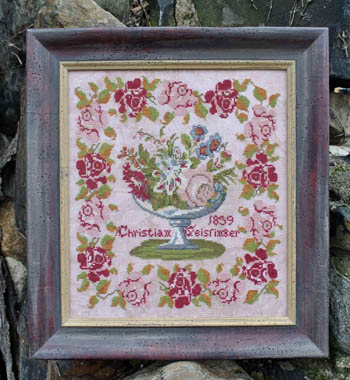 Victorian Rose Needleart Christian Geissinger 1839