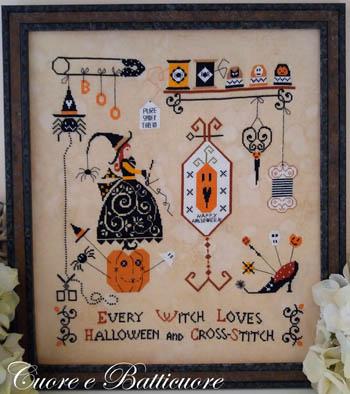 Cuore e Batticuore Halloween And Cross Stitch