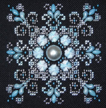 Baby Blue Sparkler by Northern Expressions Needlework