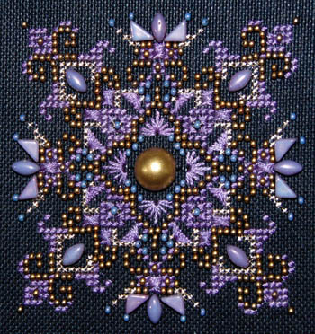 Lila Vega Sparkler by Northern Expressions Needlework