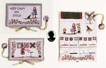 Pochette Keep Calm And Stitch by Sara Guermani