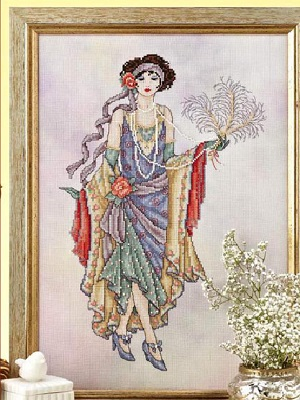 1920's Flapper by Joan Elliott