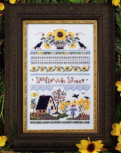 Sunflower Street Sampler by The Victoria Sampler