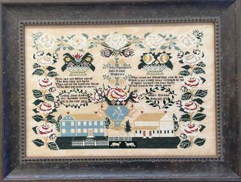 Queenstown Sampler Designs Letitia Jane Andrews 1836