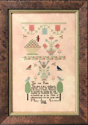 Queenstown Sampler Designs Mary Jane Sanders 1732
