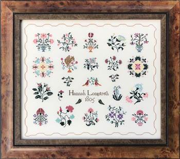 Queenstown Sampler Designs Hannah Longstreth 1805