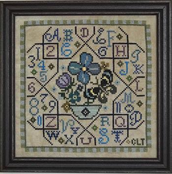 Tellin Emblem Sampler Tile - Blue