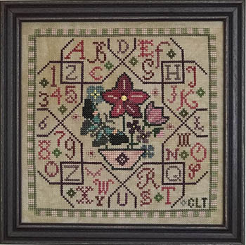 Tellin Emblem Sampler Tile - Pink