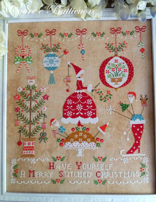 Cuore e Batticuore Natale Ricamato