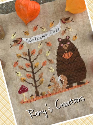 Romy's Creations Welcome Fall