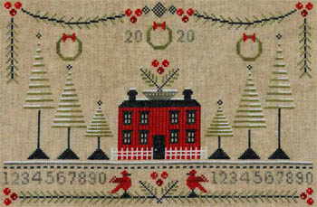 Artful Offerings Cranberry Christmas Sampler