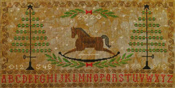 Artful Offerings Rocking Horse Holiday Sampler
