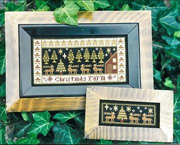 2000 Christmas Samplers by Carriage House Samplings