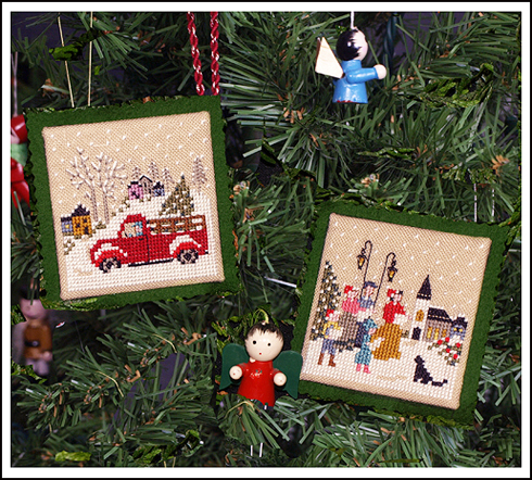 Christmas Memories Ornaments  by The Victoria Sampler