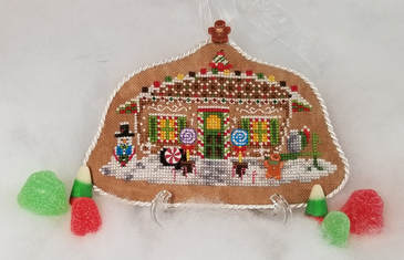 Blackberry Lane Designs Gingerbread Camper