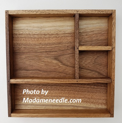 Wooden box in light wooden color wash 2sm-1big-1 large dept
