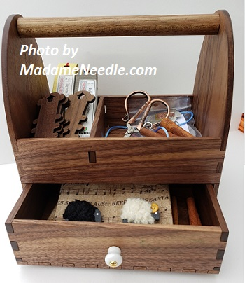 Wooden Needle toolbox