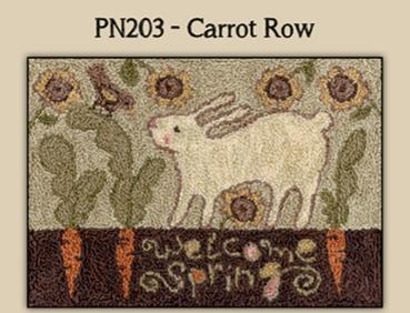 PN203 Carrot row by Teresa Kogut