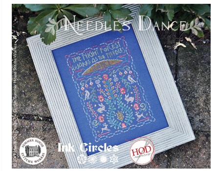 Needles dance by Ink Circles, HOD and Summer House Stitche Works