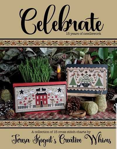 Celebrating 15 years in the Needlework Market with a Cross Stitch Book by Teresa Kogut