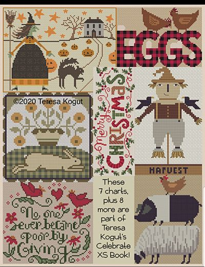 Teresa Kogut Celebrating 15 years in the Needlework Market with a Cross Stitch Book