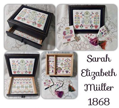 Sarah Elizabeth Miller 1838 by Giulia Punti Antichi