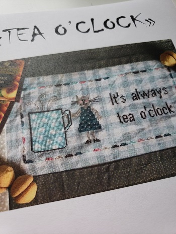 Romy's Creations Tea O'Clock