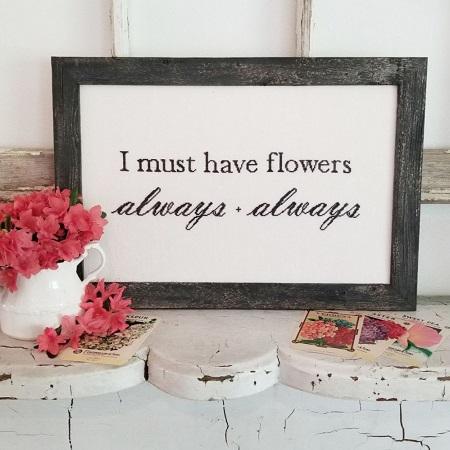 Hello from Liz Matthews Flower always