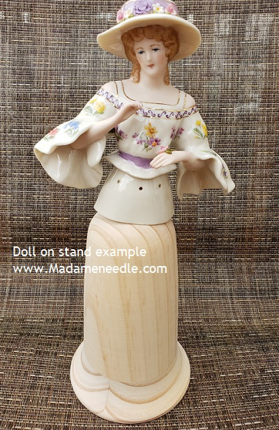 Wooden doll stand number 79
