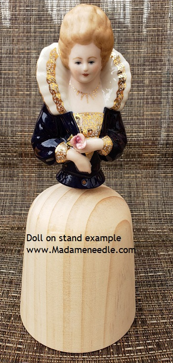 Wooden doll stand number 86