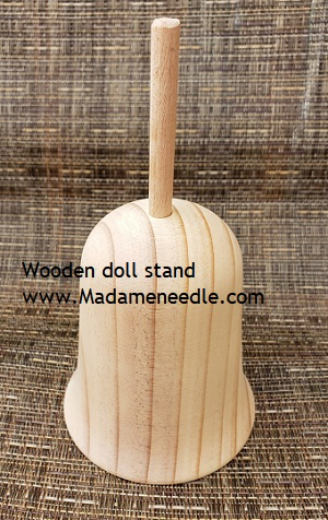 Wooden doll stand number 42