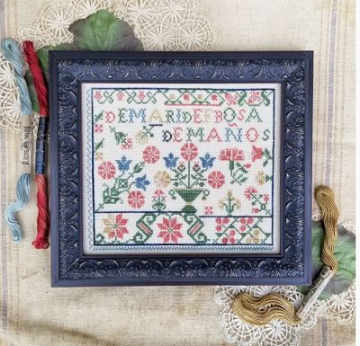 Spanish rose sampler by Hello from Liz Matthews!