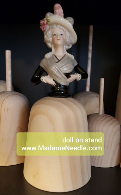 Wooden doll stand number 88